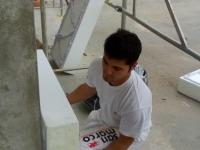 Inizio lavori di coibentazione termica