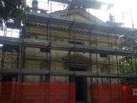 Inizio lavori di restauro lapideo e conservativo